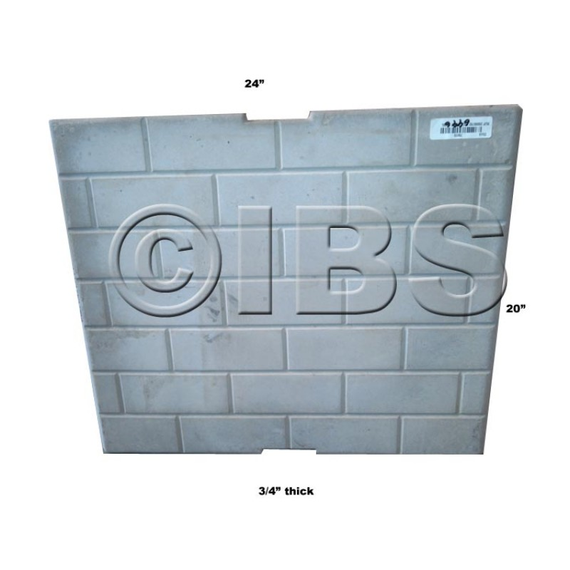 20000792K Back Brick Cr36L - DISCONTINUED Replaced By Cut To Size Panel